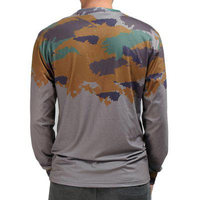 Mr.1991INC Miss.GO Male Camouflage Long Sleeves T-shirtMens Long Sleeves Tees<br>Mr.1991INC Miss.GO Male Camouflage Long Sleeves T-shirt<br><br>Brand: Mr.1991INC&amp;Miss.Go<br>Neckline: Round Collar<br>Package Content: 1 x T-shirt<br>Package size: 38.00 x 30.00 x 2.00 cm / 14.96 x 11.81 x 0.79 inches<br>Package weight: 0.2700 kg<br>Product weight: 0.2500 kg<br>Season: Autumn, Winter<br>Sleeve Length: Long Sleeves