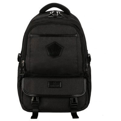 Herren Durable Nylon Laptop Rucksack