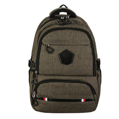Men Leisure Nylon Laptop Backpack