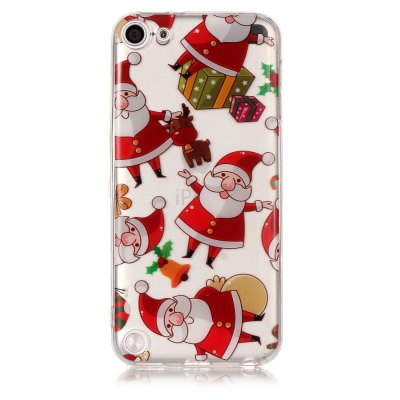 Christmas Pattern Theme HD TPU Soft Case for iPod Touch 5