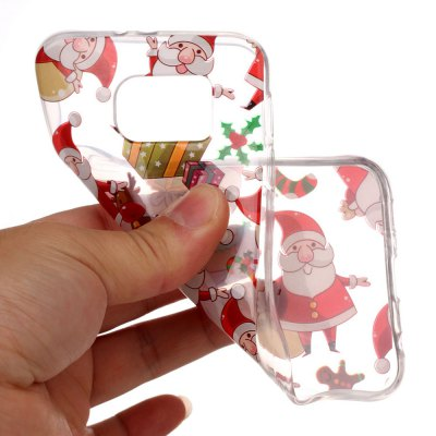 Christmas Design Style HD Clear TPU Protective Cover for Samsung Galaxy S6Samsung S Series<br>Christmas Design Style HD Clear TPU Protective Cover for Samsung Galaxy S6<br><br>Features: Back Cover<br>For: Samsung Mobile Phone<br>Material: TPU<br>Package Contents: 1 x Cellphone Case<br>Package size (L x W x H): 15.50 x 8.00 x 2.00 cm / 6.1 x 3.15 x 0.79 inches<br>Package weight: 0.0440 kg<br>Product size (L x W x H): 14.50 x 7.00 x 1.00 cm / 5.71 x 2.76 x 0.39 inches<br>Product weight: 0.0240 kg<br>Style: Modern, Pattern, Fashion, Ultra-thin