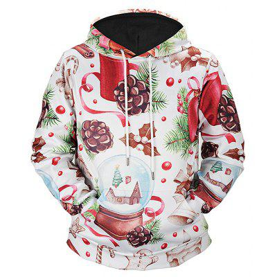 Mr.1991INC Miss.GO Male Digital Printing Hoodie de Natal