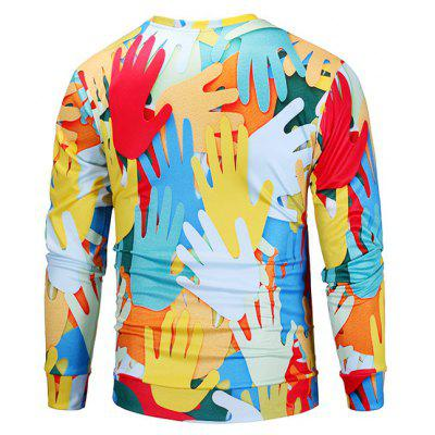 Mr 1991 INC Miss Go Palms 3D Printing SweatshirtMens Hoodies &amp; Sweatshirts<br>Mr 1991 INC Miss Go Palms 3D Printing Sweatshirt<br><br>Brand: Mr.1991INC&amp;Miss.Go<br>Clothes Type: Sweatshirt<br>Material: Polyester, Spandex<br>Occasion: Casual<br>Package Contents: 1 x Sweatshirt<br>Package size: 38.00 x 30.00 x 2.00 cm / 14.96 x 11.81 x 0.79 inches<br>Package weight: 0.4200 kg<br>Product weight: 0.4000 kg<br>Style: Casual<br>Thickness: Regular