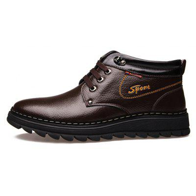 MUHUISEN Men Soft Padded-collar Warmest Dress ShoesFormal Shoes<br>MUHUISEN Men Soft Padded-collar Warmest Dress Shoes<br><br>Brand: MUHUISEN<br>Closure Type: Lace-Up<br>Contents: 1 x Pair of Shoes, 1 x Box<br>Function: Slip Resistant<br>Lining Material: Plush<br>Materials: Microfiber Leather, Plush, Rubber, Genuine Leather<br>Occasion: Tea Party, Shopping, Party, Office, Holiday, Formal, Dress, Daily, Casual<br>Outsole Material: Rubber<br>Package Size ( L x W x H ): 32.00 x 16.00 x 12.00 cm / 12.6 x 6.3 x 4.72 inches<br>Package Weights: 1.20kg<br>Pattern Type: Solid<br>Seasons: Autumn,Winter<br>Style: Leisure, Business, Comfortable, Fashion, Casual, Formal, Modern<br>Toe Shape: Pointed Toe<br>Type: Casual Leather Shoes<br>Upper Material: Genuine Leather,Microfiber Leather