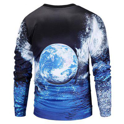 Mr 1991 INC Miss Go Earth Pattern Printing SweatshirtMens Hoodies &amp; Sweatshirts<br>Mr 1991 INC Miss Go Earth Pattern Printing Sweatshirt<br><br>Brand: Mr.1991INC&amp;Miss.Go<br>Clothes Type: Sweatshirt<br>Material: Polyester, Spandex<br>Occasion: Casual<br>Package Contents: 1 x Sweatshirt<br>Package size: 38.00 x 30.00 x 2.00 cm / 14.96 x 11.81 x 0.79 inches<br>Package weight: 0.4200 kg<br>Product weight: 0.4000 kg<br>Style: Casual<br>Thickness: Regular
