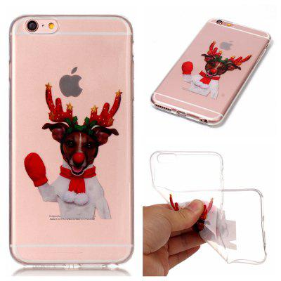 Funda de color HD con patrón de TPU para iPhone 6 / 6S