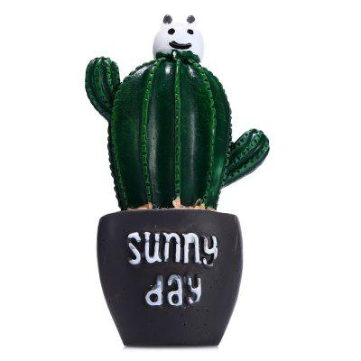 Car Cactus Air Outlet Fragrant Perfume Clip Air Freshener