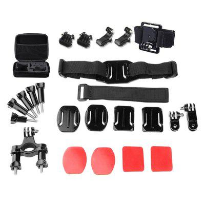 24-in-1 Universal Action Camera Accessory Kit