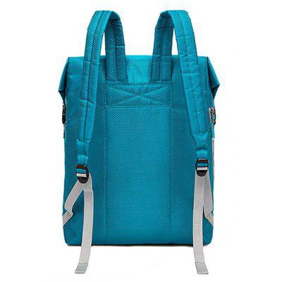 Trendy Solid Color Water-resistant Nylon BackpackBackpacks<br>Trendy Solid Color Water-resistant Nylon Backpack<br><br>Closure Type: Zip<br>Features: Wearable<br>For: Daily Use, Shopping, Outdoor<br>Gender: Unisex<br>Material: Nylon<br>Package Size(L x W x H): 40.00 x 30.00 x 10.00 cm / 15.75 x 11.81 x 3.94 inches<br>Package weight: 0.2700 kg<br>Packing List: 1 x Backpack<br>Product weight: 0.2500 kg<br>Style: Fashion<br>Type: Backpacks