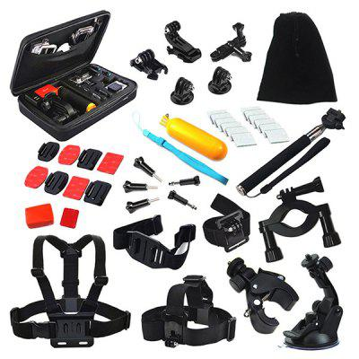 Buy COLORMIX 44-in-1 Universal Action Camera Accessory Kit for $31.94 in GearBest store