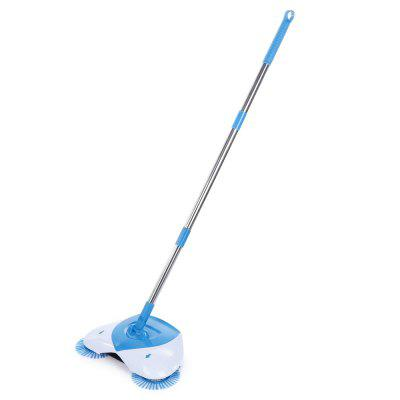 Hand Push Rotary Broom Handheld Cordless Sweeper