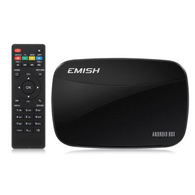EMISH X700 Smart TV Box RK3128 1GB RAM + 8GB ROM Android 4.4 + 5G WiFi 100Mbps