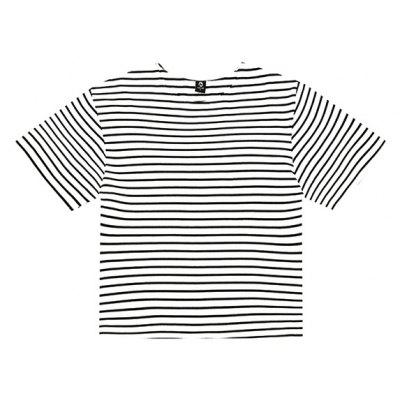 HZIJUE Male Loose Casual Stripes T-shirt