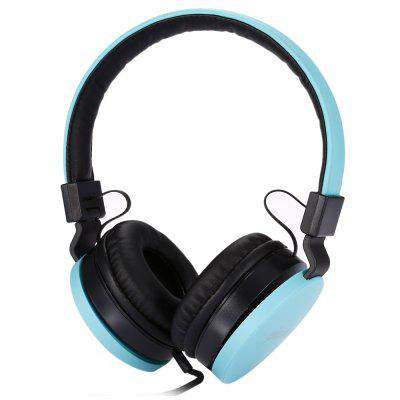 picun C18 Wired Headset with Volume Control HD Microphone