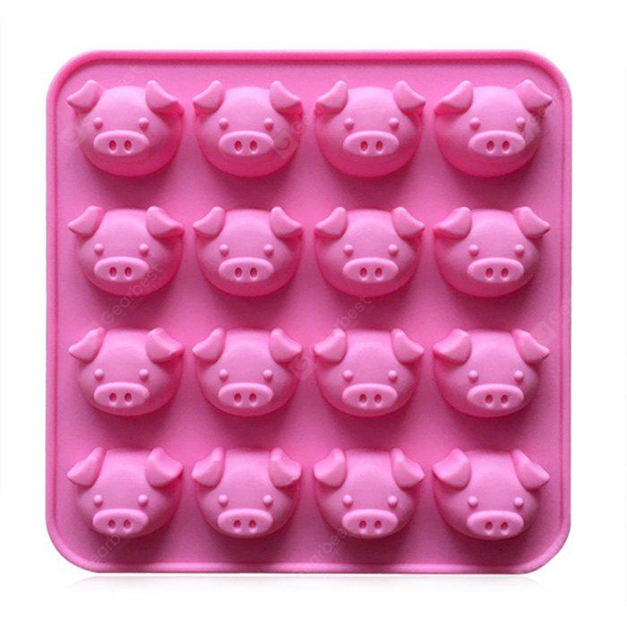 Creative Chocolate Cake Mold Lovely Pig Heads Bakery Tool