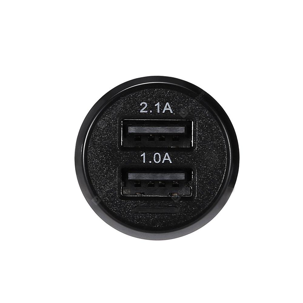 Quelima L - 188 Dual USB Ports Car Charger with LED Indicator