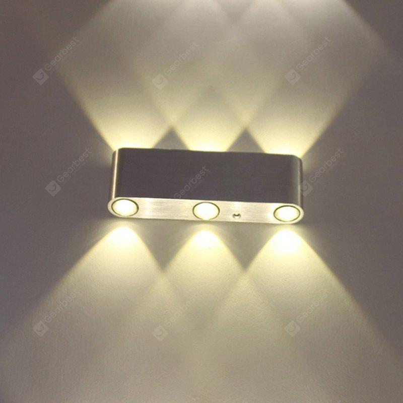 LED Integrated Modern Background Corridor Wall Lamp AC 85 - 265V