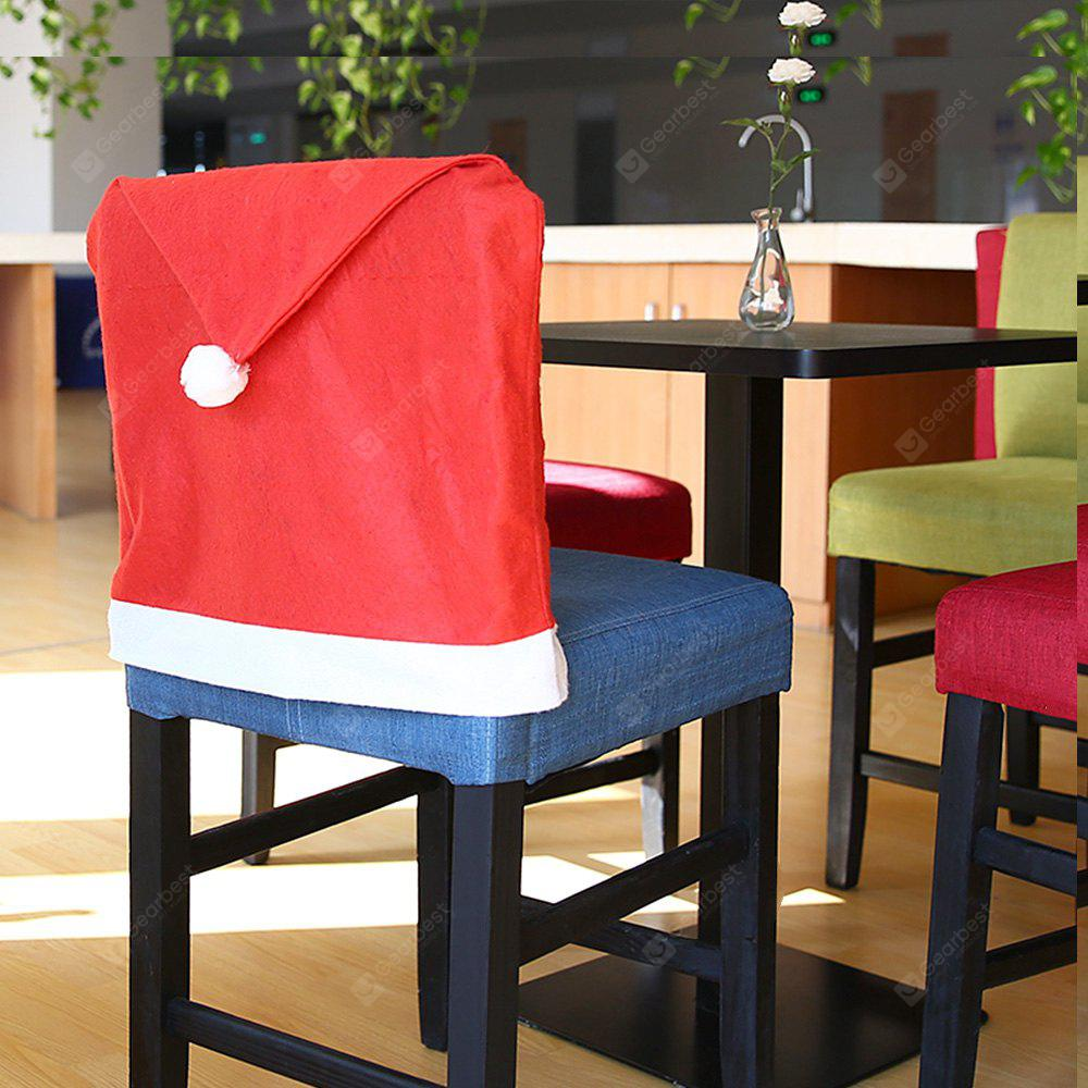Yeduo Hort Santa Claus Hat Chair Covers Christmas Dinner