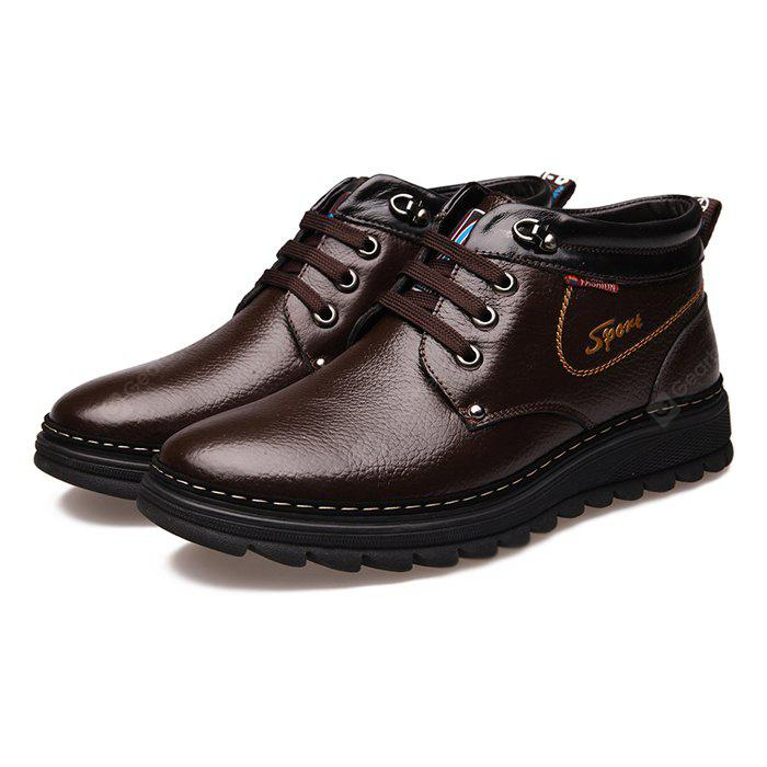 MUHUISEN Casual Shoes High Top Warmest for Men
