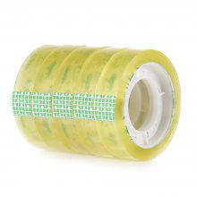 1cm Transparent Stationery Tape for Office School DIY 5PCS