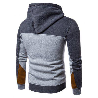Long Sleeve Splicing HoodieMens Hoodies &amp; Sweatshirts<br>Long Sleeve Splicing Hoodie<br><br>Clothes Type: Hoodie<br>Material: Cotton Blends, Polyester<br>Occasion: Casual<br>Package Contents: 1 x Splicing Hoodie<br>Package size: 35.00 x 25.00 x 2.00 cm / 13.78 x 9.84 x 0.79 inches<br>Package weight: 0.3200 kg<br>Product weight: 0.3000 kg<br>Style: Casual<br>Thickness: Regular