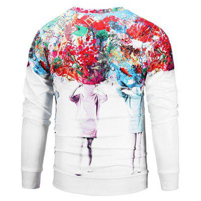 Mr 1991 INC Miss Go 3D Printing SweatshirtMens Hoodies &amp; Sweatshirts<br>Mr 1991 INC Miss Go 3D Printing Sweatshirt<br><br>Brand: Mr.1991INC&amp;Miss.Go<br>Clothes Type: Sweatshirt<br>Material: Polyester, Spandex<br>Occasion: Casual<br>Package Contents: 1 x Sweatshirt<br>Package size: 38.00 x 30.00 x 2.00 cm / 14.96 x 11.81 x 0.79 inches<br>Package weight: 0.4200 kg<br>Product weight: 0.4000 kg<br>Style: Casual<br>Thickness: Regular