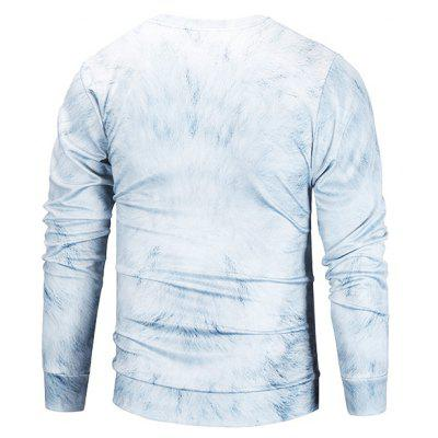 Mr 1991 INC Miss Go Wolf 3D Printing SweatshirtMens Hoodies &amp; Sweatshirts<br>Mr 1991 INC Miss Go Wolf 3D Printing Sweatshirt<br><br>Brand: Mr.1991INC&amp;Miss.Go<br>Clothes Type: Sweatshirt<br>Material: Polyester, Spandex<br>Occasion: Casual<br>Package Contents: 1 x Sweatshirt<br>Package size: 38.00 x 30.00 x 2.00 cm / 14.96 x 11.81 x 0.79 inches<br>Package weight: 0.4200 kg<br>Product weight: 0.4000 kg<br>Style: Casual<br>Thickness: Regular