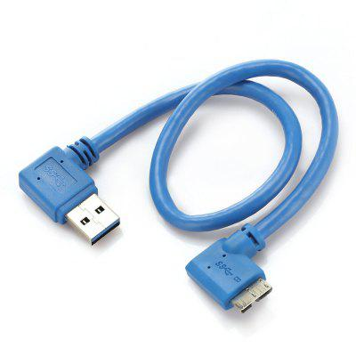 USB3.0 Male to Micro B Adapter Cable Coupler 30cmCables &amp; Connectors<br>USB3.0 Male to Micro B Adapter Cable Coupler 30cm<br><br>Cable Length (m): 0.3M<br>Connector Type: USB 3.0, USB 3.0 Micro B<br>Package Contents: 1 x USB3.0 Male to Micro B Adapter Cable<br>Package size (L x W x H): 8.00 x 7.00 x 5.00 cm / 3.15 x 2.76 x 1.97 inches<br>Package weight: 0.0240 kg<br>Product size (L x W x H): 30.00 x 0.30 x 0.30 cm / 11.81 x 0.12 x 0.12 inches<br>Product weight: 0.0230 kg<br>Type: Adapter
