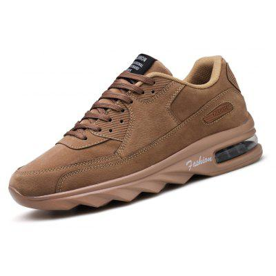 Male Ultralight Soft Air Cushion Athletic ShoesAthletic Shoes<br>Male Ultralight Soft Air Cushion Athletic Shoes<br><br>Closure Type: Lace-Up<br>Contents: 1 x Pair of Shoes, 1 x Box<br>Function: Slip Resistant<br>Materials: PU, Leather<br>Occasion: Sports, Shopping, Running, Party, Outdoor Clothing, Holiday, Daily, Casual, Riding<br>Outsole Material: PU<br>Package Size ( L x W x H ): 31.00 x 21.00 x 13.00 cm / 12.2 x 8.27 x 5.12 inches<br>Package Weights: 0.80kg<br>Pattern Type: Solid<br>Seasons: Autumn,Spring<br>Style: Modern, Leisure, Fashion, Comfortable, Casual<br>Toe Shape: Round Toe<br>Type: Sports Shoes<br>Upper Material: Leather