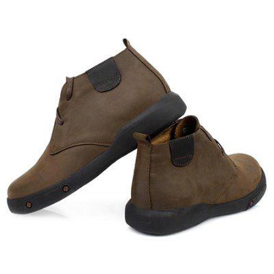Male Quintessential Soft Warmest Ankle-top BootsMens Boots<br>Male Quintessential Soft Warmest Ankle-top Boots<br><br>Closure Type: Lace-Up<br>Contents: 1 x Pair of Shoes, 1 x Box<br>Function: Slip Resistant<br>Lining Material: Pigskin<br>Materials: Pigskin, Rubber, Leather<br>Occasion: Tea Party, Shopping, Party, Holiday, Casual, Office, Daily, Dress, Formal<br>Outsole Material: Rubber<br>Package Size ( L x W x H ): 31.00 x 22.00 x 13.00 cm / 12.2 x 8.66 x 5.12 inches<br>Package Weights: 1.17kg<br>Pattern Type: Solid<br>Seasons: Autumn,Winter<br>Style: Modern, Leisure, Formal, Fashion, Comfortable, Casual, Business<br>Toe Shape: Round Toe<br>Type: Boots<br>Upper Material: Leather