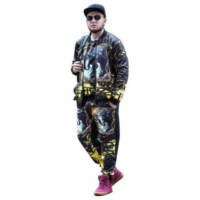 Plus Size Casual Stand-up Collar Printing Jacket for MenMens Jackets &amp; Coats<br>Plus Size Casual Stand-up Collar Printing Jacket for Men<br><br>Closure Type: Zipper<br>Clothes Type: Jackets<br>Collar: Stand-Up Collar<br>Embellishment: Printing<br>Materials: Polyester, Spandex<br>Occasion: Daily Use<br>Package Content: 1 x Jacket<br>Package Dimension: 41.00 x 0.10 x 34.00 cm / 16.14 x 0.04 x 13.39 inches<br>Package weight: 0.8500 kg<br>Pattern Type: Print<br>Product weight: 0.8200 kg<br>Seasons: Autumn,Winter<br>Shirt Length: Regular<br>Sleeve Length: Long Sleeves<br>Style: Casual, Classic<br>Thickness: Thickening