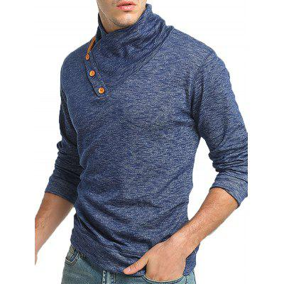 Male Unique Cool Stand-up Collar SweaterMens Sweaters &amp; Cardigans<br>Male Unique Cool Stand-up Collar Sweater<br><br>Package Contents: 1 x Sweater<br>Package size: 35.00 x 25.00 x 2.00 cm / 13.78 x 9.84 x 0.79 inches<br>Package weight: 0.5200 kg<br>Product weight: 0.5000 kg