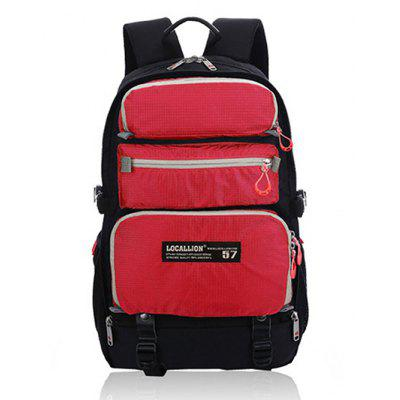 Buy RED Outdoor Multifunctional Water-resistant Nylon Sports Backpack for $47.01 in GearBest store