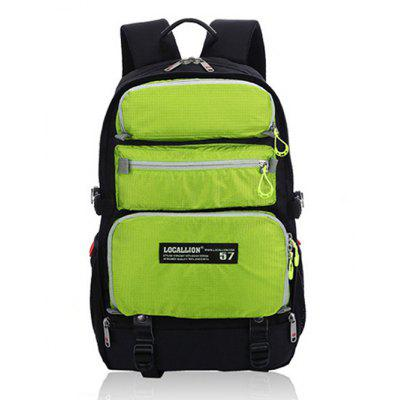 Buy GREEN Outdoor Multifunctional Water-resistant Nylon Sports Backpack for $47.01 in GearBest store