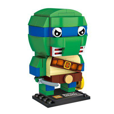 LOZ Cartoon Image Building Blocks SetBlock Toys<br>LOZ Cartoon Image Building Blocks Set<br><br>Brand: LOZ<br>Gender: Unisex<br>Materials: ABS<br>Package Contents: 1 x Set of Building Blocks, 1 x Manual ( No Words )<br>Package size: 15.00 x 4.50 x 13.00 cm / 5.91 x 1.77 x 5.12 inches<br>Package weight: 0.0800 kg<br>Product size: 4.40 x 5.00 x 6.20 cm / 1.73 x 1.97 x 2.44 inches<br>Product weight: 0.0700 kg<br>Suitable Age: Kid<br>Theme: Movie and TV<br>Type: Kids Building