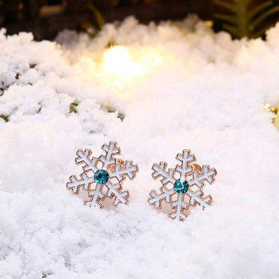 Christmas Snowflake Zinc Alloy Women EarringsEarrings<br>Christmas Snowflake Zinc Alloy Women Earrings<br><br>Package Contents: 1 x Pair of Earrings<br>Package size (L x W x H): 6.00 x 6.00 x 4.00 cm / 2.36 x 2.36 x 1.57 inches<br>Package weight: 0.0248 kg<br>Product weight: 0.0038 kg<br>Style: Fashion<br>Type: Earrings