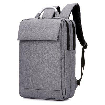 Buy GRAY Minimalist Water-resistant Laptop Backpack for $33.07 in GearBest store