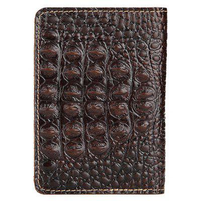 Men Vintage Genuine Leather Bifold WalletWallets<br>Men Vintage Genuine Leather Bifold Wallet<br><br>Features: Wearable<br>For: Daily Use<br>Gender: Men<br>Material: Leather<br>Package Size(L x W x H): 15.00 x 11.00 x 2.00 cm / 5.91 x 4.33 x 0.79 inches<br>Package weight: 0.1300 kg<br>Packing List: 1 x Wallet<br>Product Size(L x W x H): 14.00 x 10.00 x 1.00 cm / 5.51 x 3.94 x 0.39 inches<br>Product weight: 0.1200 kg<br>Style: Fashion<br>Type: Wallet