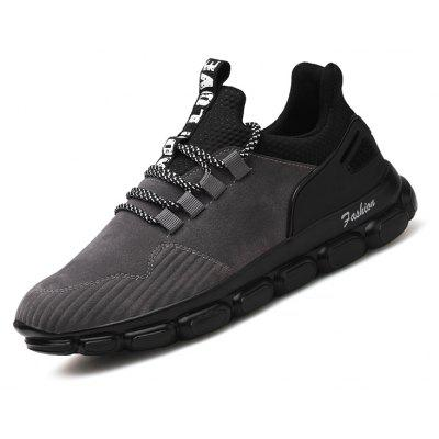 Male Soft Ultralight Tank-sole Athletic ShoesAthletic Shoes<br>Male Soft Ultralight Tank-sole Athletic Shoes<br><br>Closure Type: Lace-Up<br>Contents: 1 x Pair of Shoes, 1 x Box<br>Function: Slip Resistant<br>Materials: PU, Leather<br>Occasion: Sports, Shopping, Riding, Outdoor Clothing, Holiday, Daily, Casual, Running<br>Outsole Material: PU<br>Package Size ( L x W x H ): 31.00 x 20.00 x 13.00 cm / 12.2 x 7.87 x 5.12 inches<br>Package Weights: 0.82kg<br>Seasons: Autumn,Spring<br>Style: Modern, Leisure, Fashion, Comfortable, Casual<br>Toe Shape: Round Toe<br>Type: Sports Shoes<br>Upper Material: Leather