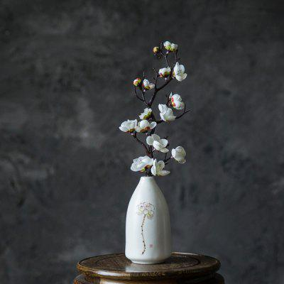 Artificial Flower Home Decoration with Metal Vase