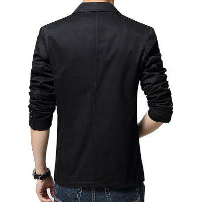 Casual Long Sleeves JacketMens Blazers<br>Casual Long Sleeves Jacket<br><br>Closure Type: Button<br>Material: Cotton, Polyester<br>Occasion: Casual<br>Package Contents: 1 x Jacket<br>Package size: 35.00 x 25.00 x 25.00 cm / 13.78 x 9.84 x 9.84 inches<br>Package weight: 0.3200 kg<br>Product weight: 0.3000 kg<br>Style: Casual<br>Thickness: Regular