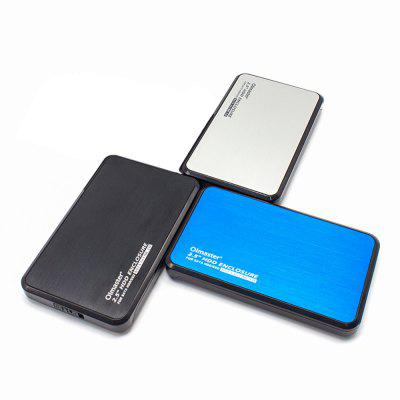 Oimaster EB - 2506U3 External Hard Disk EnclosureHDD Enclosure<br>Oimaster EB - 2506U3 External Hard Disk Enclosure<br><br>Application: Desktop, Laptop<br>Brand: OImaster<br>Design: Compact, Classical<br>Model: EB - 2506U3<br>Package Size(L x W x H): 16.00 x 10.50 x 3.60 cm / 6.3 x 4.13 x 1.42 inches<br>Package weight: 0.2000 kg<br>Packing List: 1 x 2.5 inch SATA HDD External Enclosure<br>Product Size(L x W x H): 13.50 x 8.10 x 1.70 cm / 5.31 x 3.19 x 0.67 inches<br>Product weight: 0.1000 kg