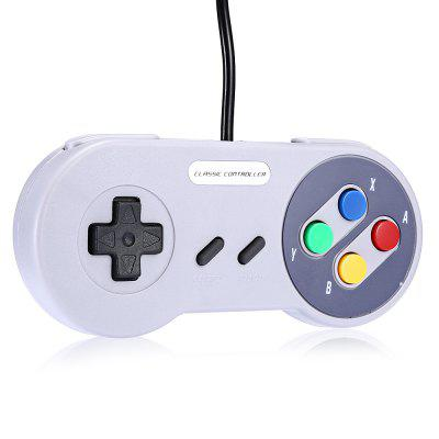 Classic Wired Controller for SNES Gamepad Joystick