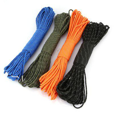CTSmart Multifunctional Outdoor Reflective Parachute Cord 30m 4PCS