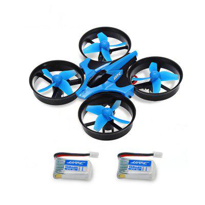 JJRC H36 Mini RC Drone -  WITH TWO BATTERIES  BLUE