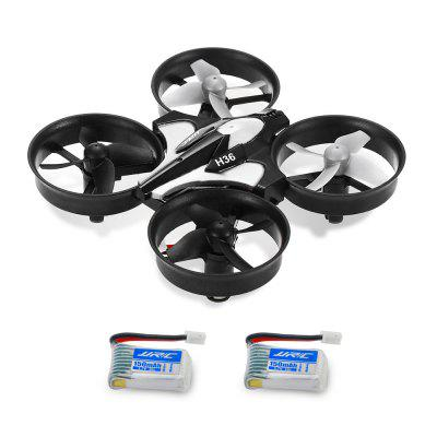 JJRC H36 Drone with Two Batteries Gray