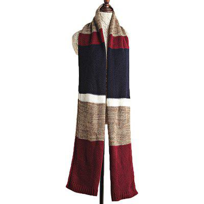Jacquard Knitted Thicken Keep Warm Shawl for Women