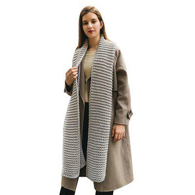 Solid Color Thicken Keep Warm Scarf for Women