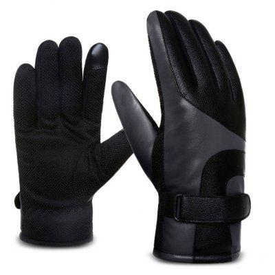 Touch Screen Keep Warm Windproof Gloves for Men