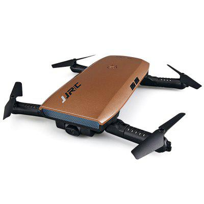 JJRC H47 ELFIE+ Foldable RC Pocket Selfie Drone - RTFRC Quadcopters<br>JJRC H47 ELFIE+ Foldable RC Pocket Selfie Drone - RTF<br><br>Battery: 3.7V 500mAh lithium-ion<br>Brand: JJRC<br>Built-in Gyro: 6 Axis Gyro<br>Channel: 4-Channels<br>Charging Time.: 70mins<br>Compatible with Additional Gimbal: No<br>Control Distance: 50-100m<br>Detailed Control Distance: 80~100m<br>Features: WiFi FPV, WiFi APP Control, Radio Control, Camera, Brushed Version<br>Flying Time: 7mins<br>FPV Distance: 30 - 50m<br>Functions: Headless Mode, Air Press Altitude Hold, Forward/backward, WiFi Connection, Gravity Sense Control, Waypoints, Up/down, Sideward flight, 3D rollover, Slow down, Speed up, Turn left/right<br>Kit Types: RTF<br>Level: Beginner Level<br>Model: H47<br>Model Power: Rechargeable Battery<br>Motor Type: Brushed Motor<br>Package Contents: 1 x Drone?Battery Included ), 1 x Spare Battery, 1 x G-sensor Controller, 4 x Spare Propeller, 1 x USB Cable, 1 x Screwdriver, 1 x Chinese-English Manual, 1 x Drone Case<br>Package size (L x W x H): 18.00 x 16.50 x 7.00 cm / 7.09 x 6.5 x 2.76 inches<br>Package weight: 0.4070 kg<br>Product weight: 0.0860 kg<br>Radio Mode: Mode 1 &amp; Mode 2 ?Left &amp; Right-hand Throttle?,WiFi APP<br>Remote Control: 2.4GHz Wireless Remote Control<br>Sensor: Barometer<br>Size: Small<br>Transmitter Power: 2 x AAA battery(not included)<br>Type: Outdoor, Quadcopter, Indoor<br>Video Resolution: 720P HD